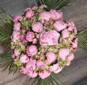 Bouquet de pivoines et hortensias 2